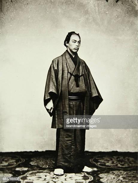 Japanese businessman 1869/70 Photograph by Wilhelm Burger
