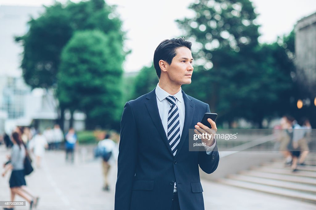 日本のビジネスマン : ストックフォト