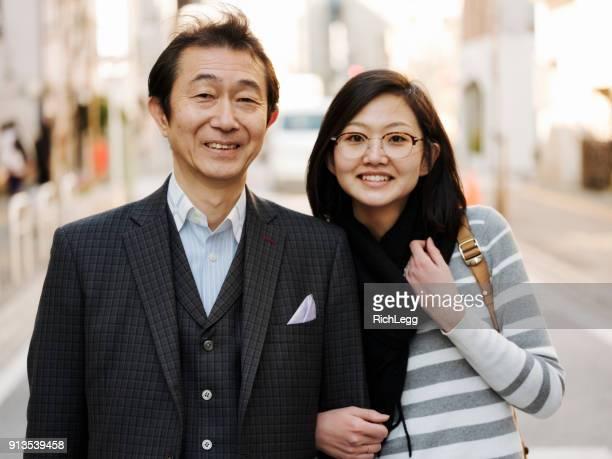 日本のビジネスマン - 娘 ストックフォトと画像