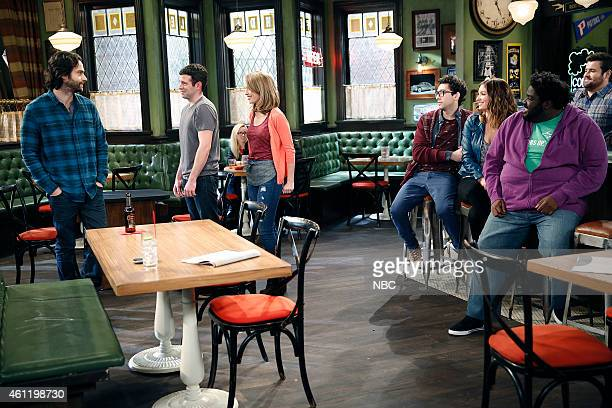 UNDATEABLE A Japanese Businessman Walks Into a Bar Episode 201 Pictured Chris D'Elia as Danny Brent Morin as Justin Bridgit Mendler as Candace Rick...