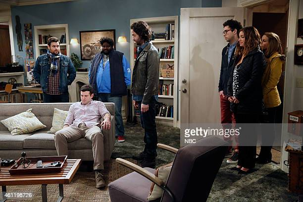 UNDATEABLE A Japanese Businessman Walks Into a Bar Episode 201 Pictured David Fynn as Brett Brent Morin as Justin Ron Funches as Shelly Chris D'Elia...