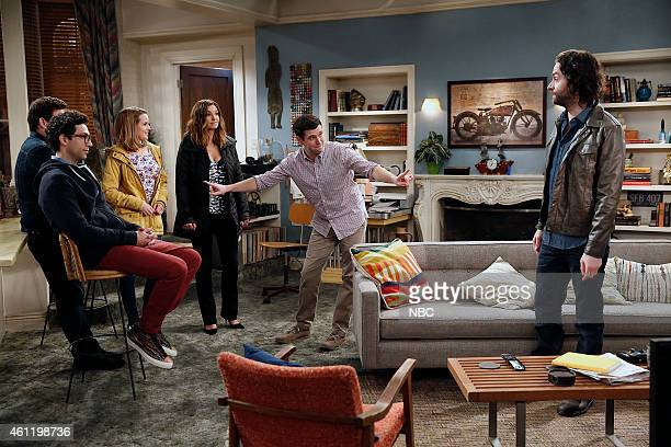 UNDATEABLE A Japanese Businessman Walks Into a Bar Episode 201 Pictured Rick Glassman as Burski Bridgit Mendler as Candace Bianca Kajlich as Leslie...