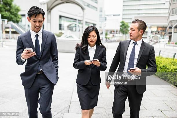 日本の実業家路上の大阪