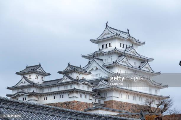 japanese castle - liyao xie stock pictures, royalty-free photos & images