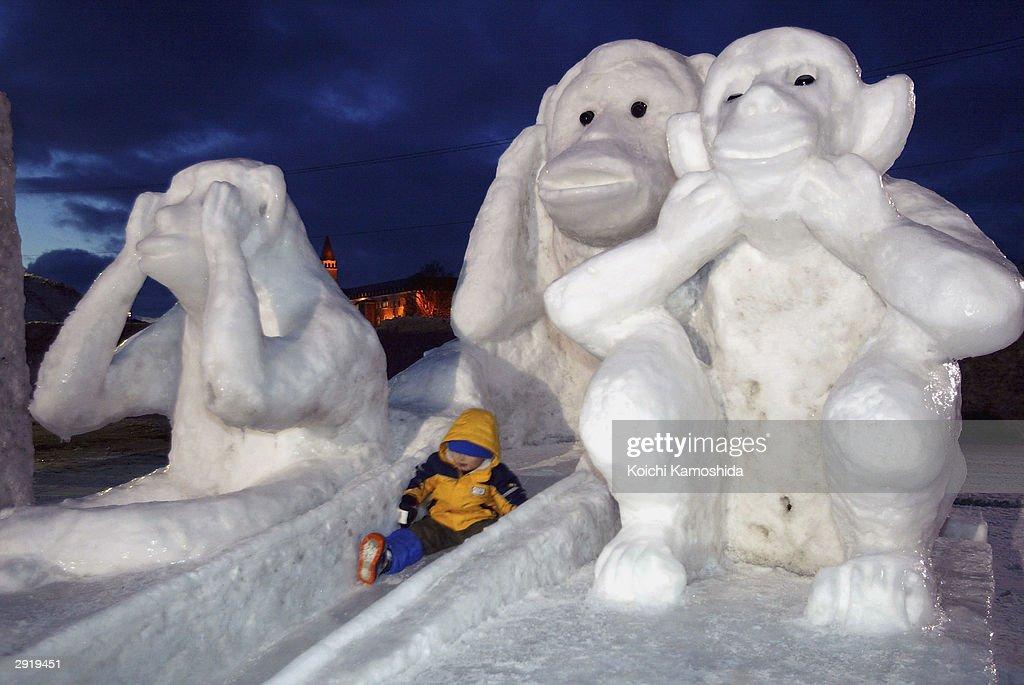 Asahikawa Winter Festival : Nachrichtenfoto