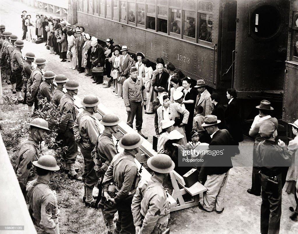 Japanese Internment - World War Two : News Photo