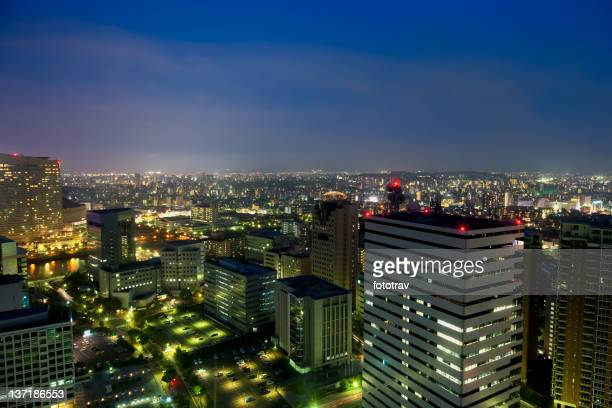 Japanese City by night, Japan