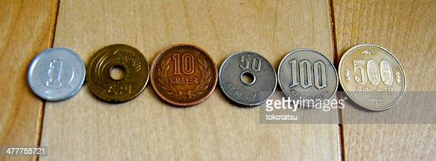 Japanese coins by Tatsuoki