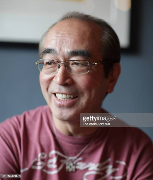 Japanese comedian Ken Shimura is photographed on February 24 2009 in Tokyo Japan