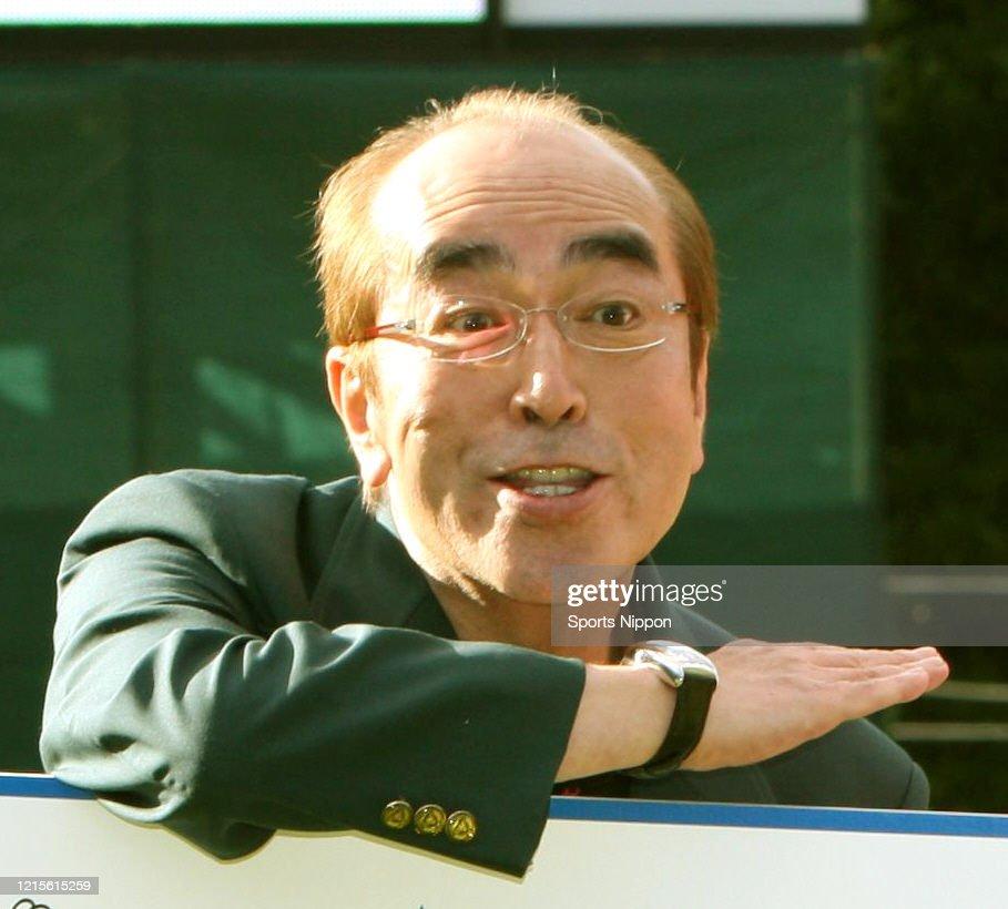 Japanese Comedian Ken Shimura at Sankyo Ladies Open - Day 3 : ニュース写真