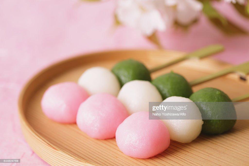 Japanese confectionery : Stock Photo