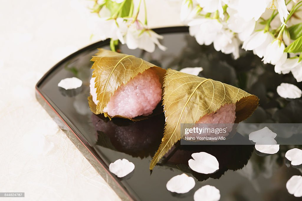 Japanese confectionery : Stock Photo
