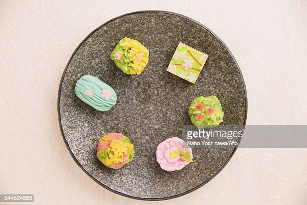 japanese confectionery - 和菓子 ストックフォトと画像