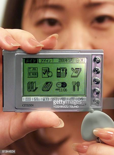 Japanese corporation Citizen Watch unveils the world's smallest and lightest PDA gadget DataSlim 2 in Tokyo 11 May 2000 The DataSlim 2 sized a PCMCIA...