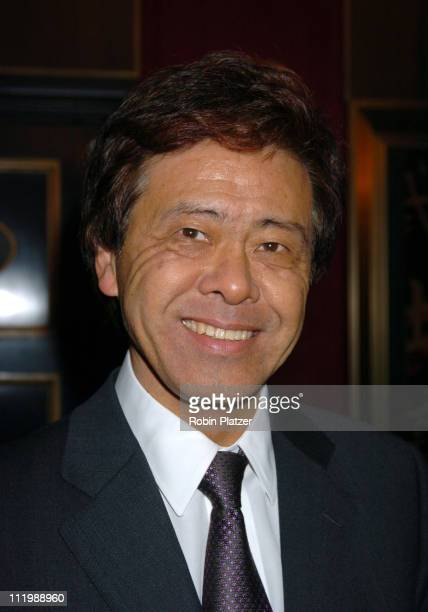 Japanese Council General Hiroyasu Ando during 'The Last Samurai' New York Premiere at The Zeigfeld Theater in New York City New York United States