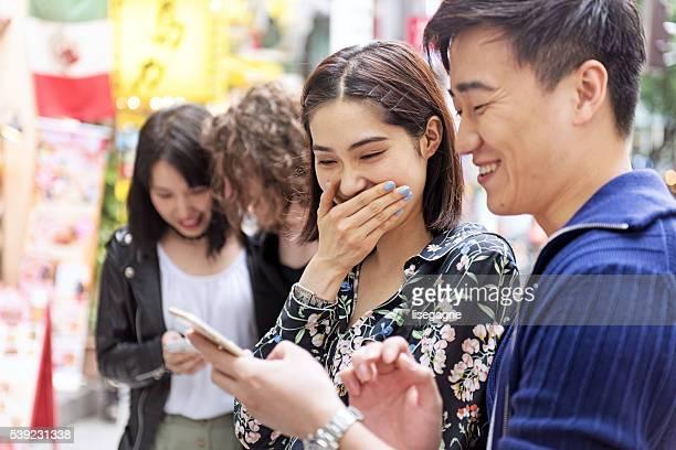 日本人夫婦渋谷の