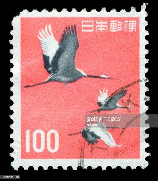 タンチョウヅル郵便切手