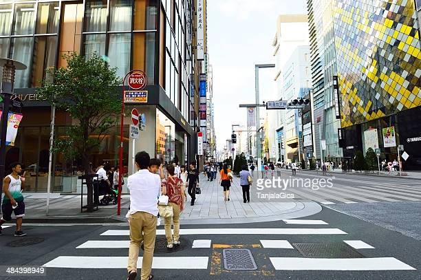 Paso peatonal japonés