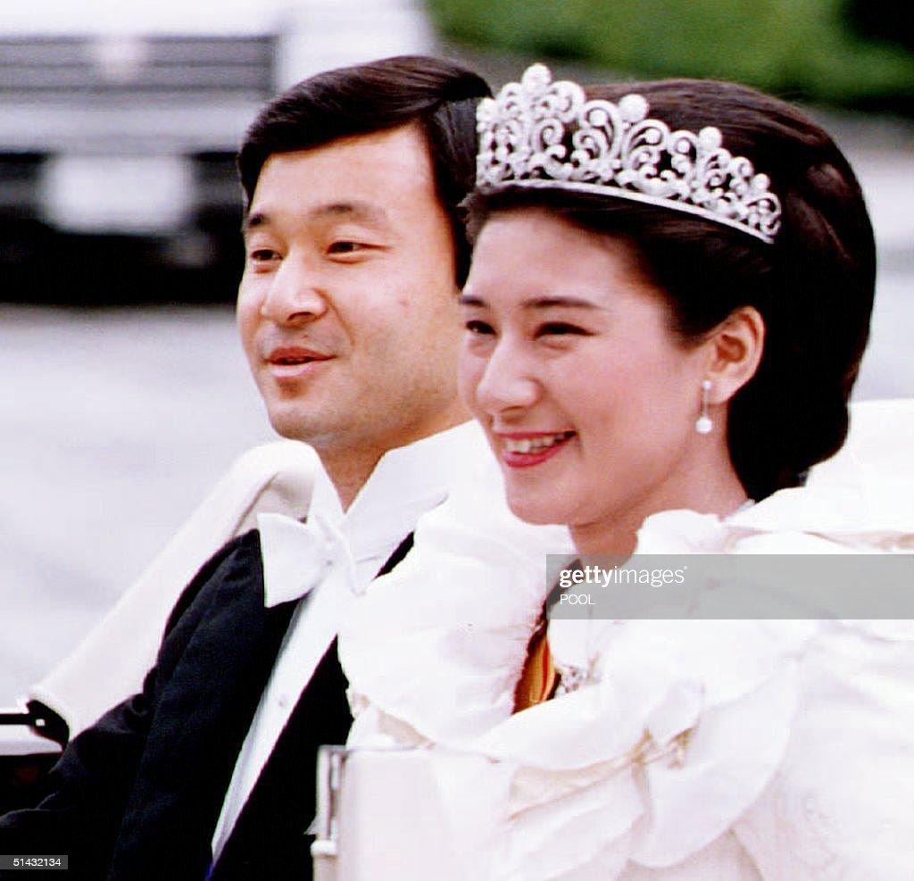 Japanese Crown Prince Naruhito and Princess Masako : News Photo
