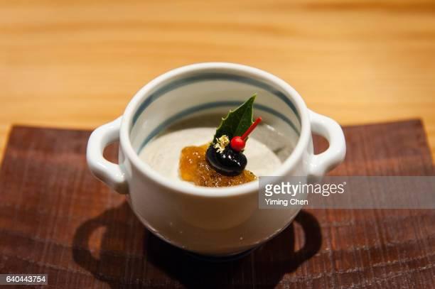 Japanese Cuisine: Black Bean Pudding