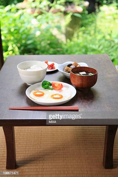 Japanese cuisine breakfast