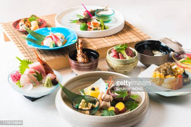 japanese cuisine food - japanese food stock pictures, royalty-free photos & images