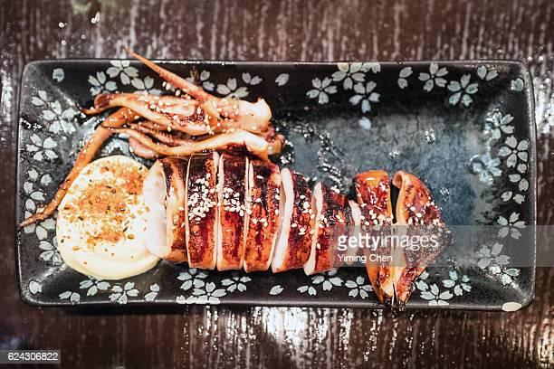 Japanese Cuisine: Ikayaki