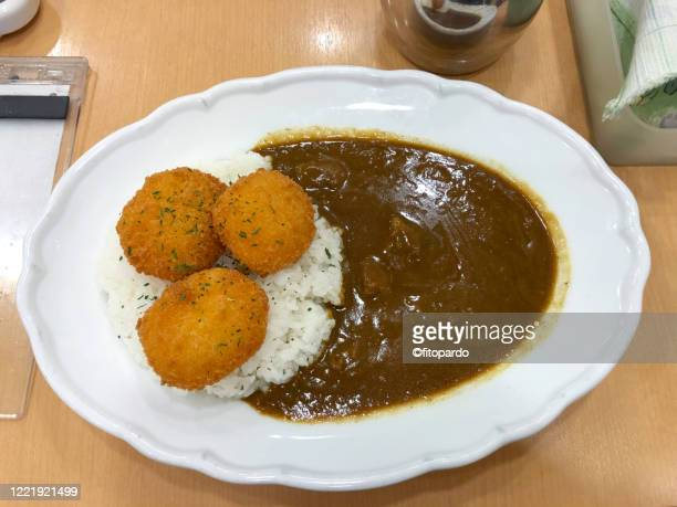 japanese curry - yōshoku photos et images de collection