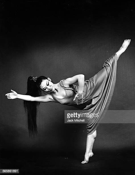 Japanese dancer/choreographer Mariko Sanjo 1969 Photo by Jack Mitchell/Getty Images