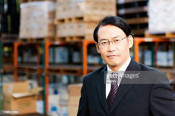 Japanese Directing Manager in Warehouse