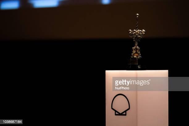 Japanese director Hirokazu KoreEda receives the Donostia Award in recognition of his prestigious film career during the 66th San Sebastian Film...