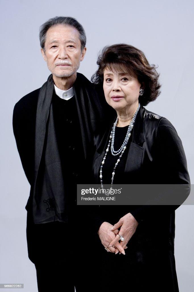 Japanese Directors Kiju Yoshida And His Wife Mariko Okada Are In News Photo Getty Images