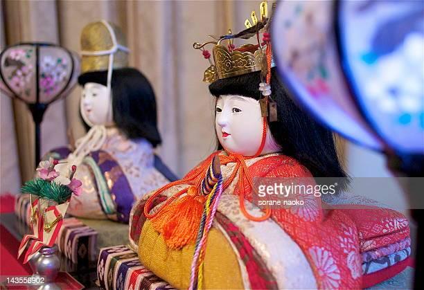 Japanese doll 'Hina'