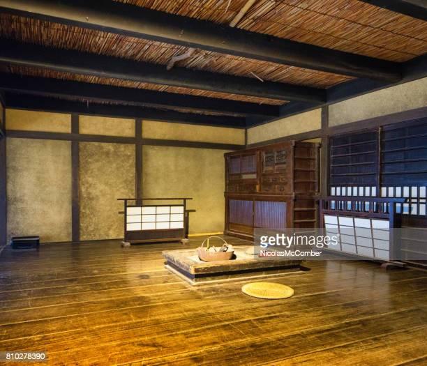 東映京都で映画のセットをダイニング ルームを会議日本江戸村イン