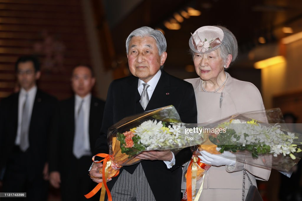 Japan Mark 30 Years Since Emperor Akihito's Enthronement : News Photo