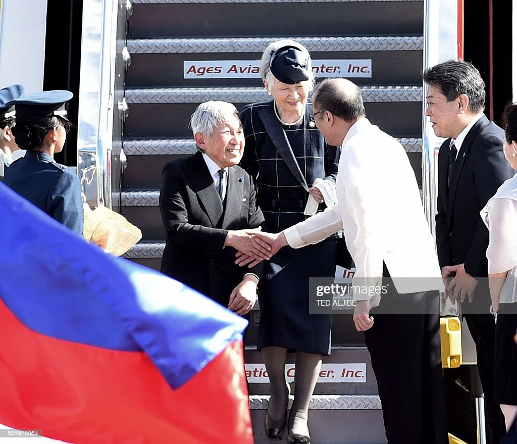 PHILIPPINES-JAPAN-DIPLOMACY-WAR : Fotografía de noticias