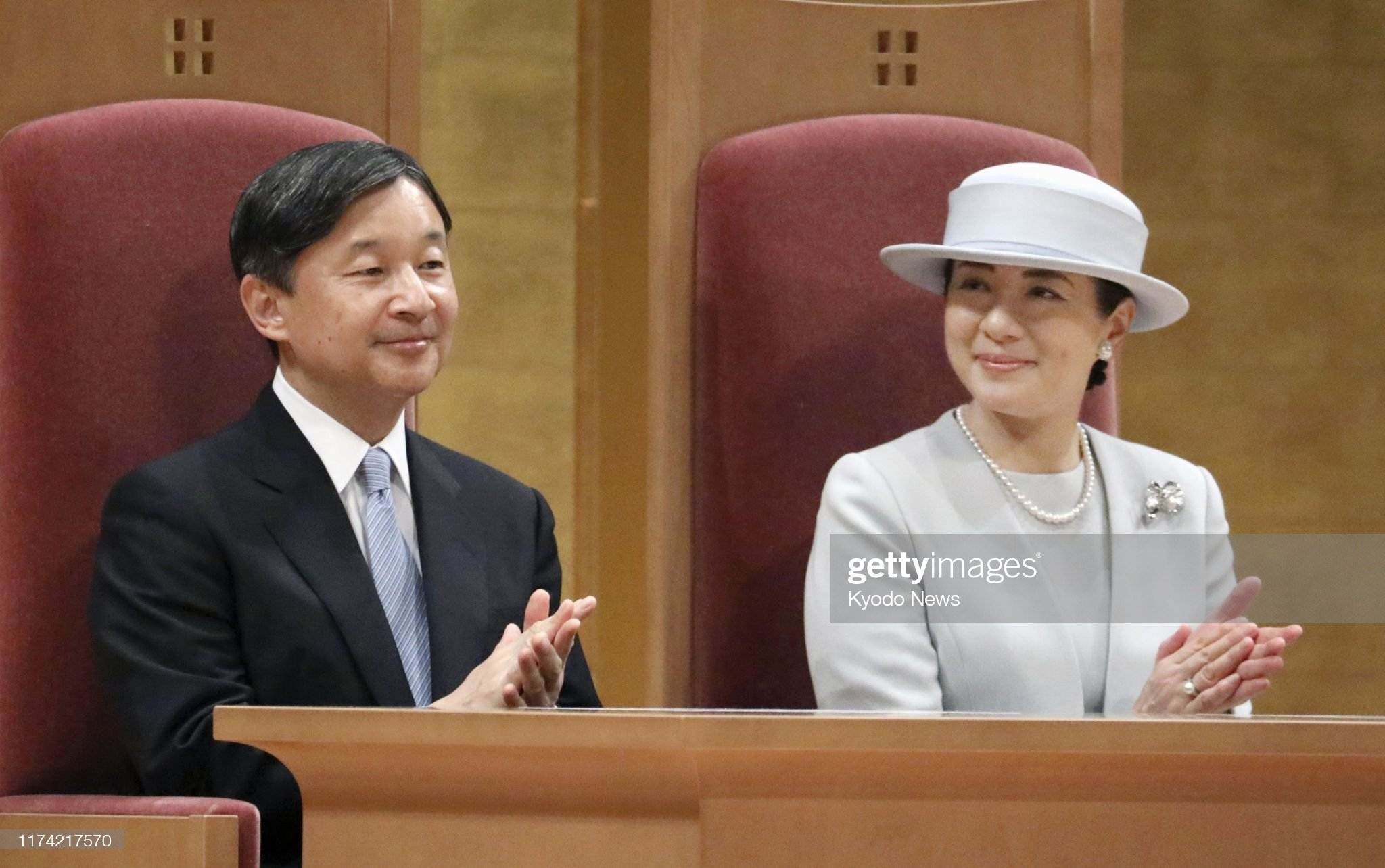 japanese-emperor-naruhito-and-empress-masako-attend-a-ceremony-the-picture-id1174217570