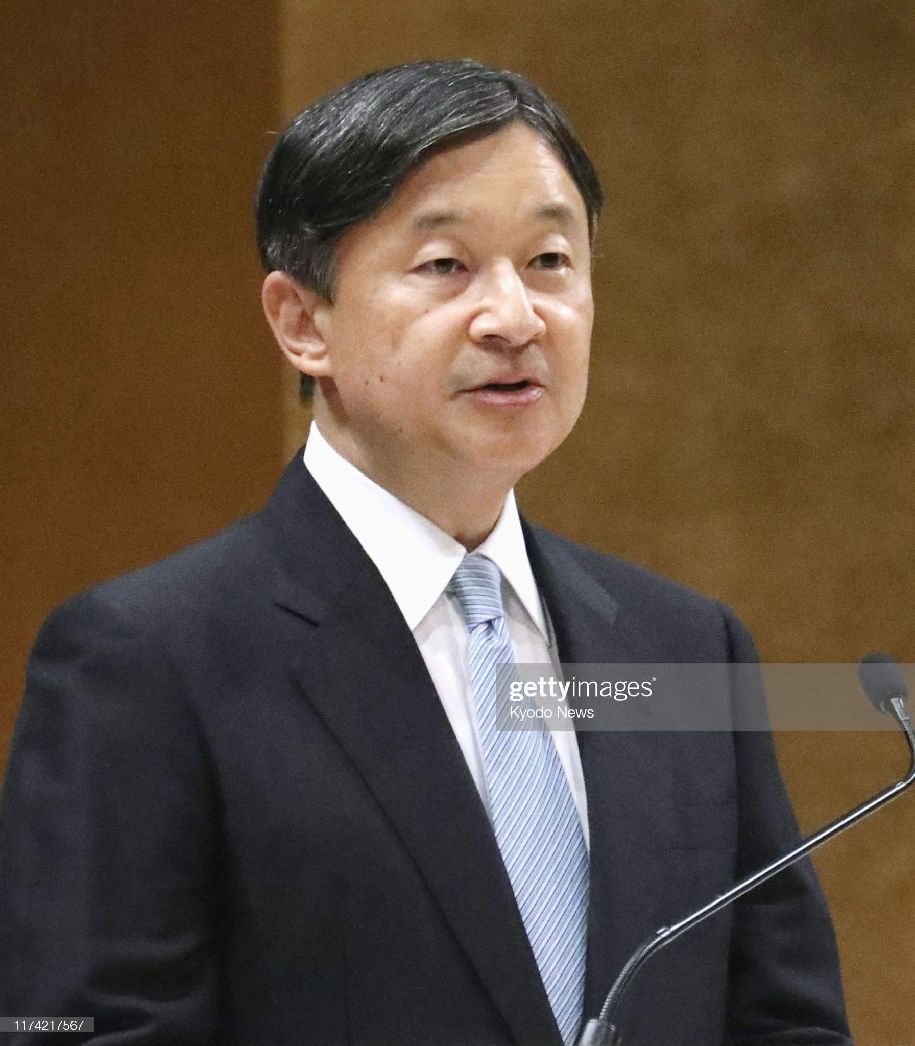 japanese-emperor-naruhito-delivers-a-speech-during-a-ceremony-marking-picture-id1174217567