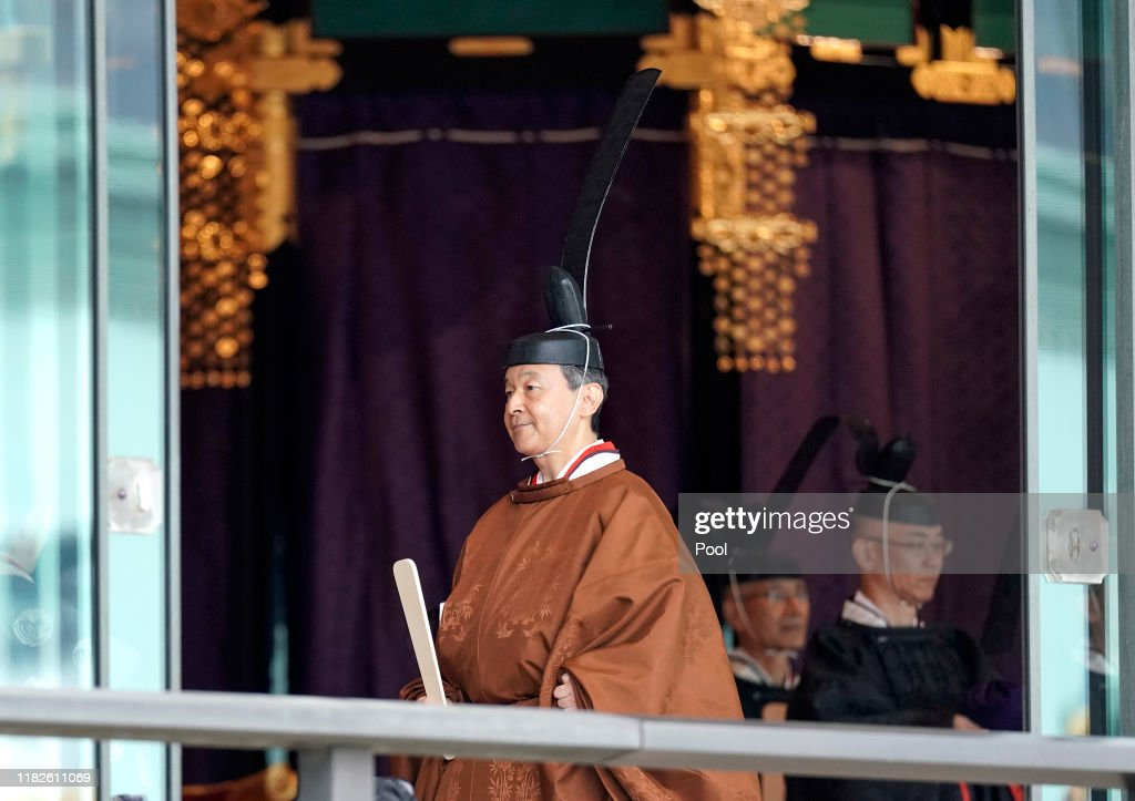 Enthronement Ceremony Of Emperor Naruhito In Japan : ニュース写真
