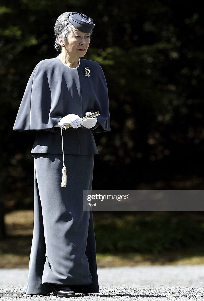 Japanese Royal Couple Visit The Grave Of The Imperial Household