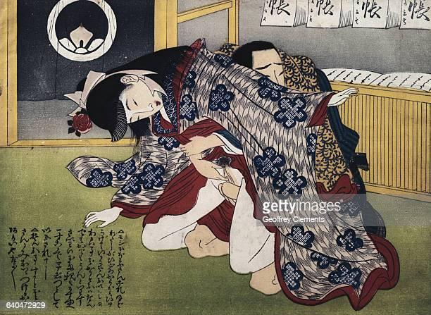 Japanese Erotic Print