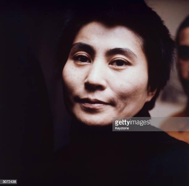 Japanese experimental musician Yoko Ono wife of the late John Lennon