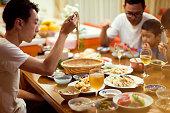 Japanese Family Dinner