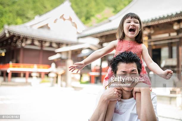 日本の父と娘