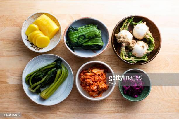 日本の発酵食品 - キムチ ストックフォトと画像