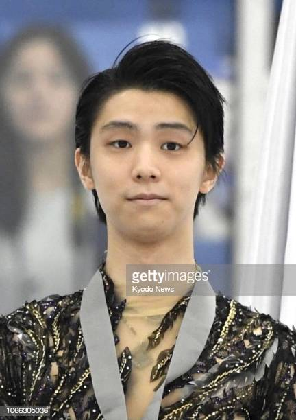 Japanese figure skater Yuzuru Hanyu seen in this file photo will miss the Grand Prix Final to be held in Vancouver from Dec 68 due to a right ankle...