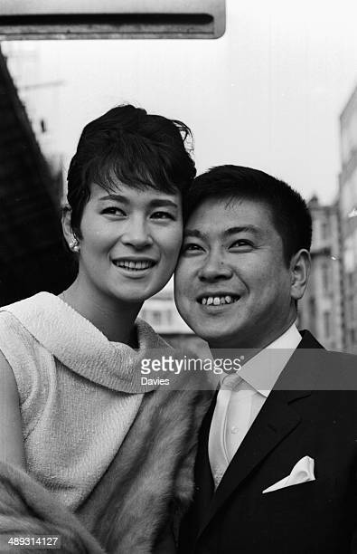 Japanese film star Yujiro Ishihara and his wife Mie Kitahara May 3rd 1964