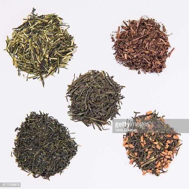 Japanese finest green teas : sencha, genmaicha, kukicha,