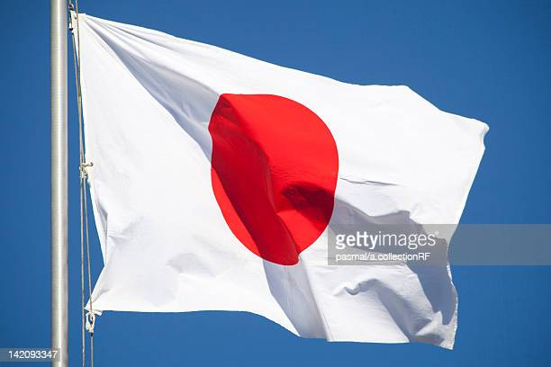 japanese flag - japanese flag stock photos and pictures