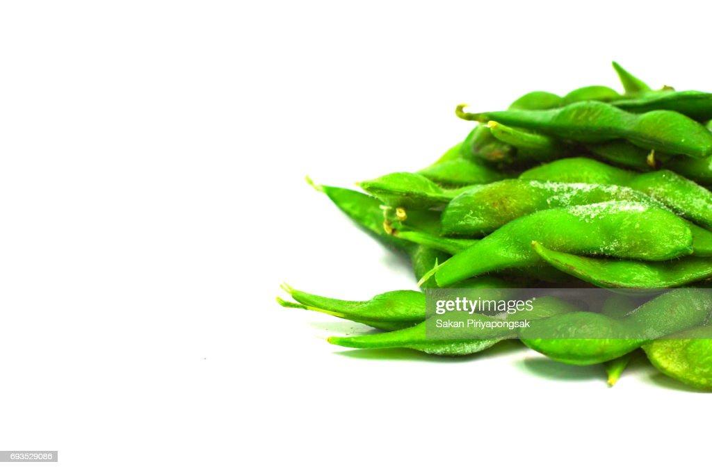 grüne sojabohnen